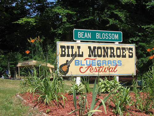 3. Bean Blossom Bluegrass Festival