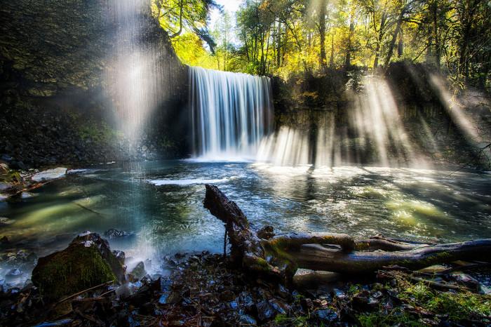 12) Crepuscular Beaver Falls