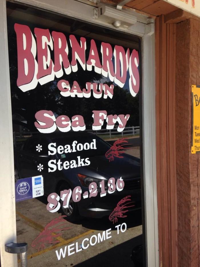 9) Bernard's Cajun Sea Fry, Cottonport