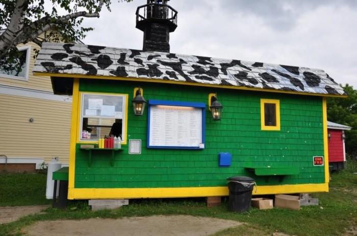 2) Burger Barn, Jeffersonville