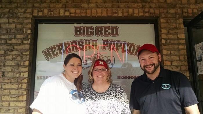 2. Big Red Nebraska Popcorn, Scottsbluff