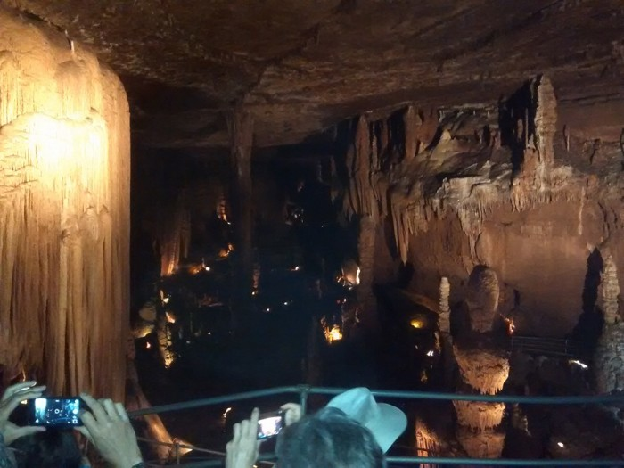 6. Take a trip down (way, way down) to Blanchard Springs Caverns.