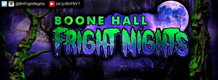 9. Boone Hall Fright Night, 3075 Morningdale Drive Mt. Pleasant
