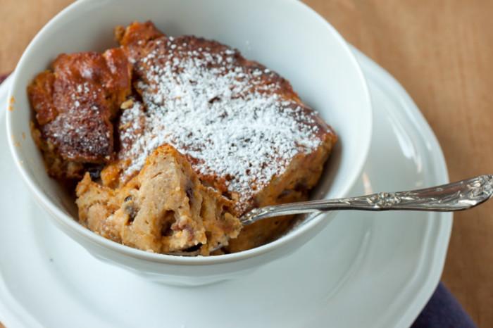 4) Bread Pudding