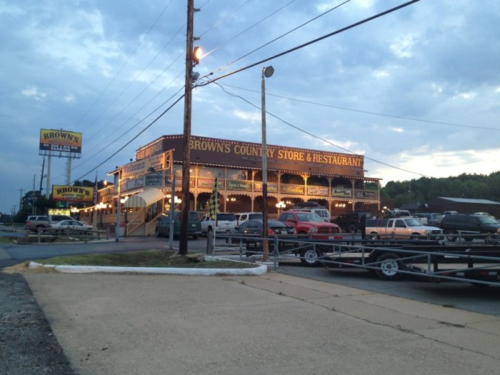 10. Brown's Country Store and Restaurant