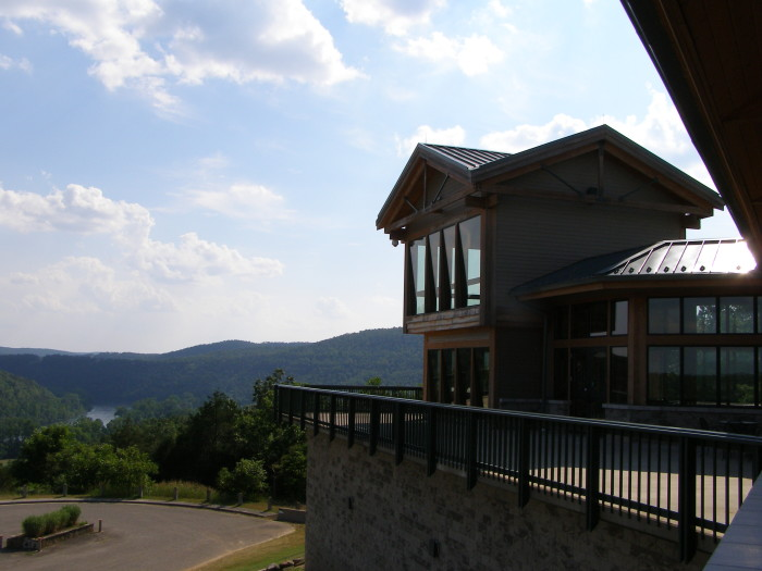 10. Go hiking on the Big Bluff Trail at Bull Shoals-White River State Park.