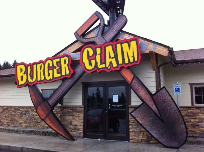 5. The Burger Claim, Grand Mound