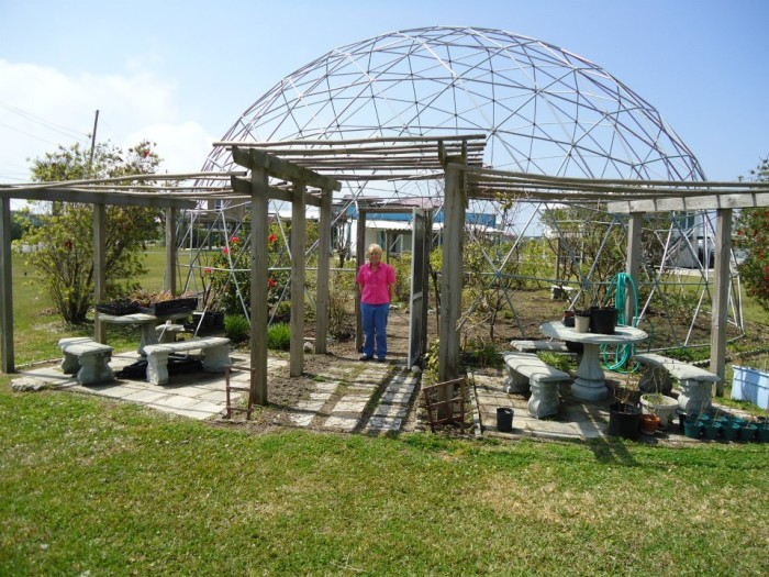 10) Butterfly Dome, Grand Isle