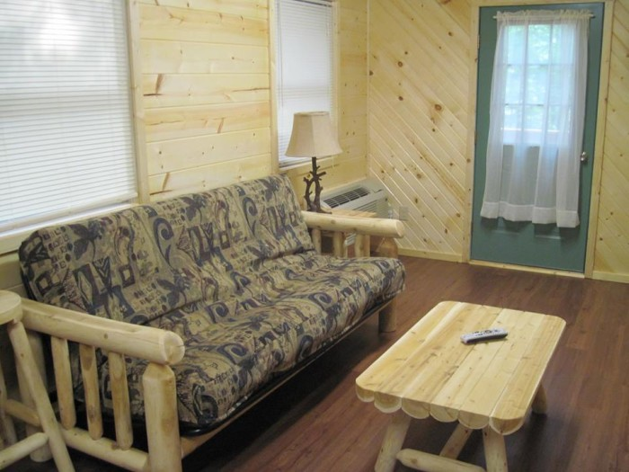 cabins pine haven inside