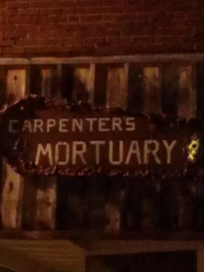 10. Carpenter's Mortuary