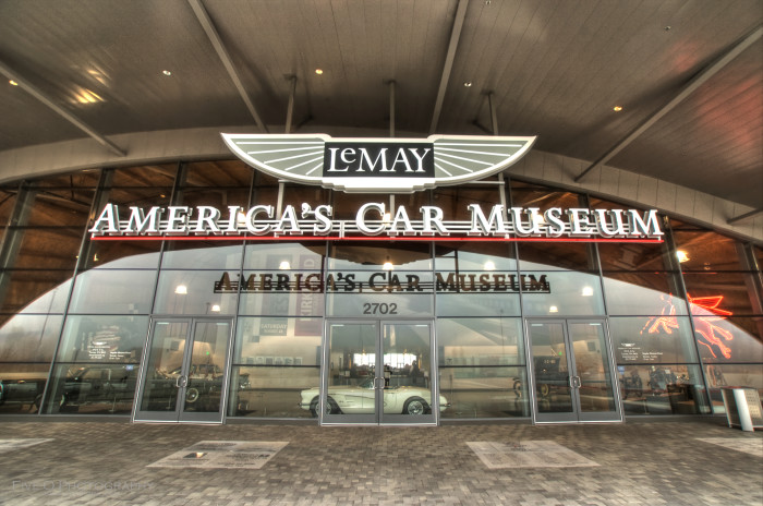10. The largest privately owned collection of automobiles in the world