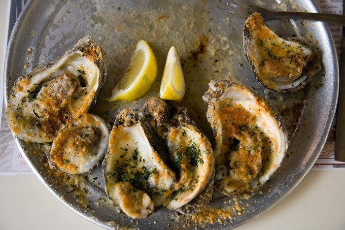 2) Oysters & Cheese