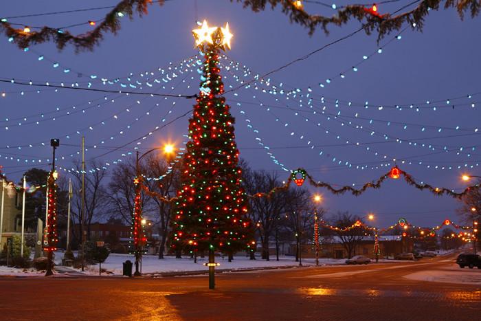 3. Christmas City of the High Plains (Wakeeney)