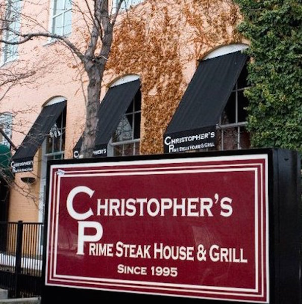 3) Christopher's Prime Steakhouse and Grill
