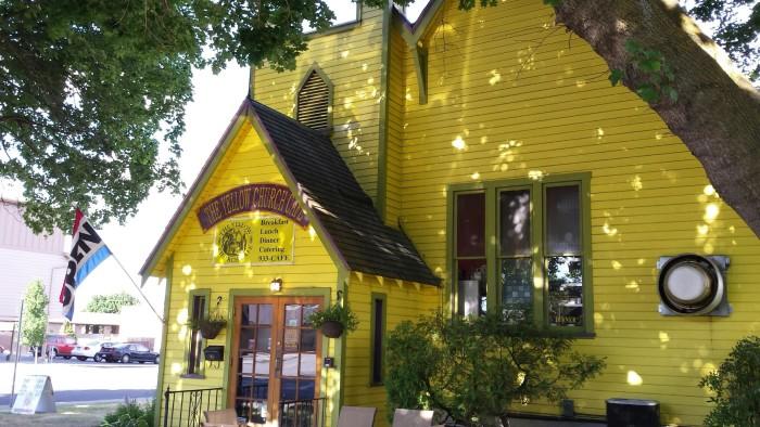 9. Yellow Church Cafe in Ellensburg