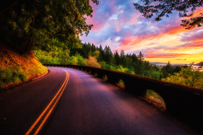 7) Take a drive on the Columbia River Scenic Byway.