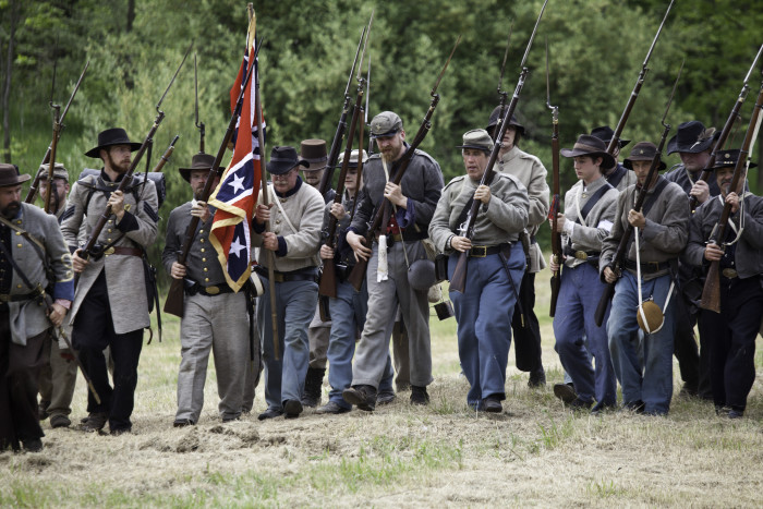 12. Be a Confederate soldier (if only for a day).