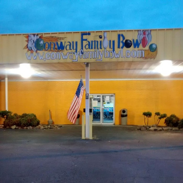 3. Conway Family Bowling Center