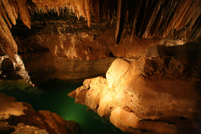 1. Have your mind blown while exploring Cosmic Cavern!