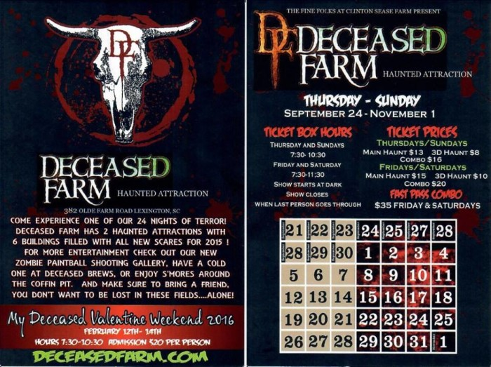 5. Deceased Farm, 382 Olde Farm Rd. Lexington