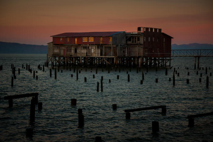 10) The abandoned cannery in Astoria.