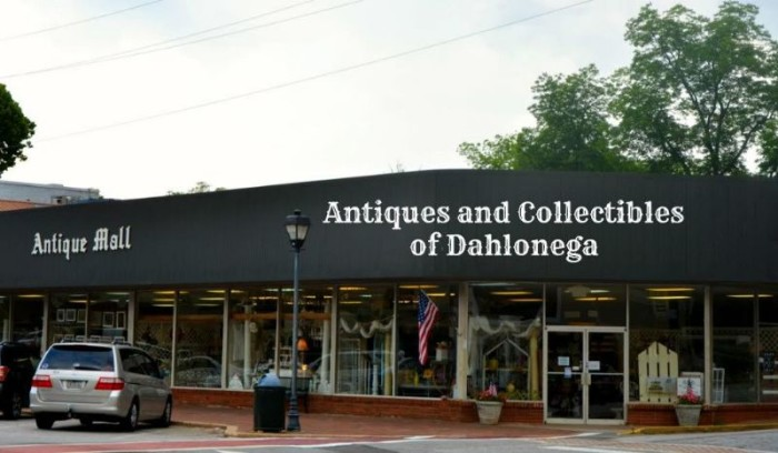 10. Antiques & Collectibles of Dahlonega - 35 E Main St Dahlonega, GA 30533