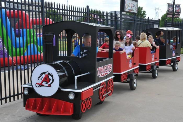 6. Dickey Stephens Park Kid's Train