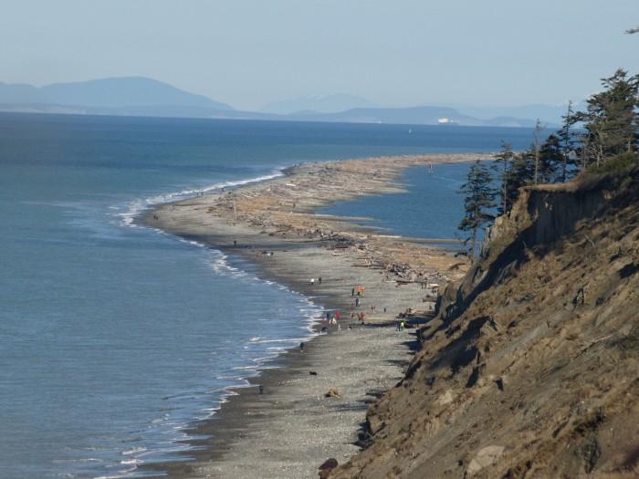 8. The longest natural sandspit in the U.S.