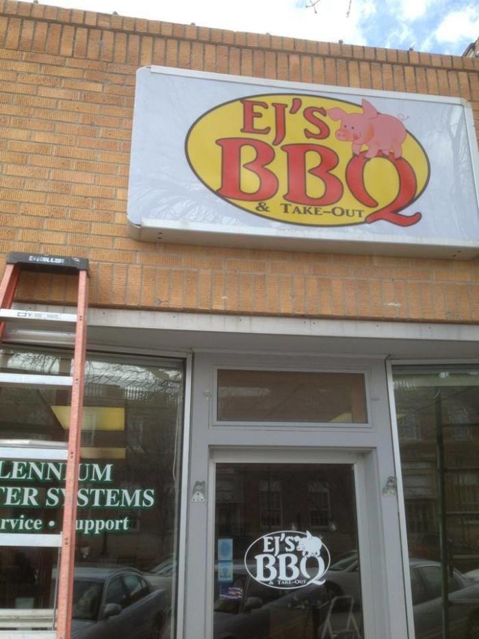 5. EJ's BBQ & Takeout, Chadron