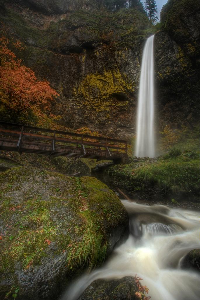 4) Elowah Falls Trail (1.4 miles)