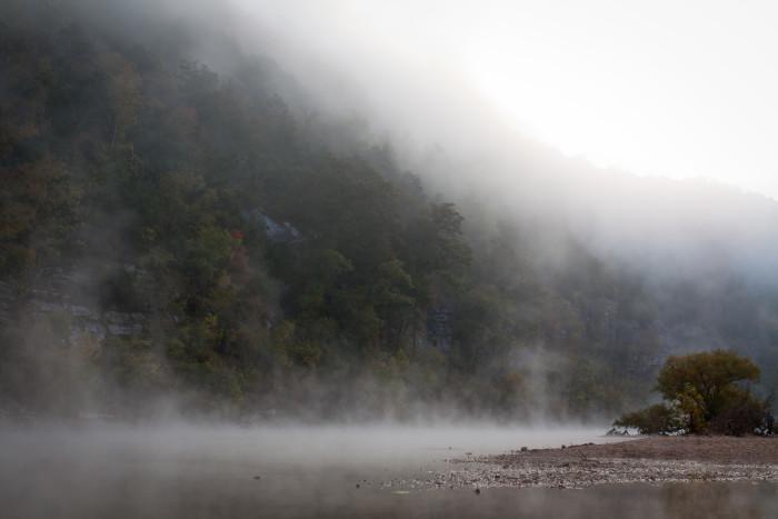 6. Fog on Buffalo Point