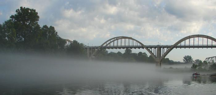 11. Foggy Bridge