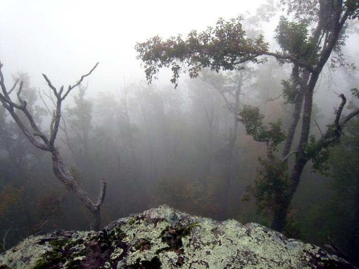 8. White Rock Mountain Fog