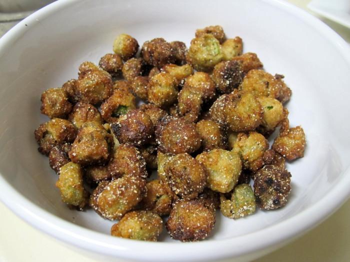 9) Fried Okra