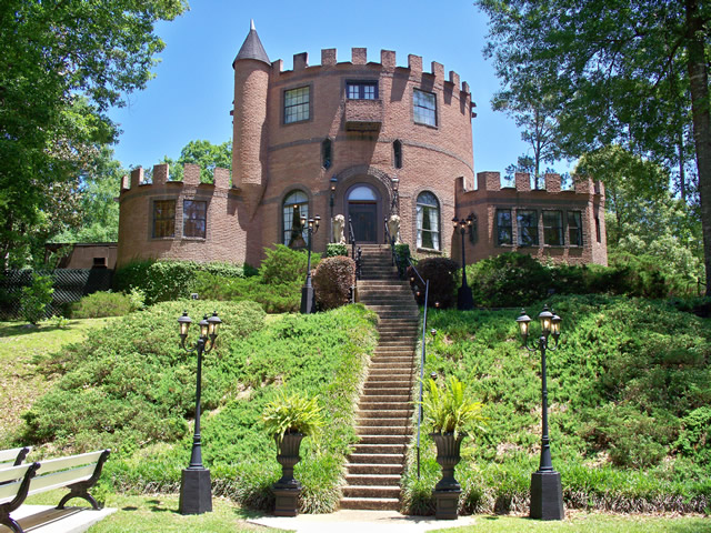 4. Louisiana Castle