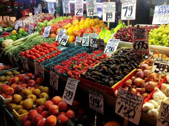 12. Local fruit