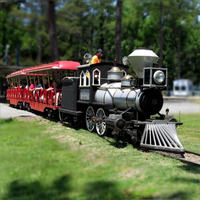 8. Funland Amusement Park Kid's Train