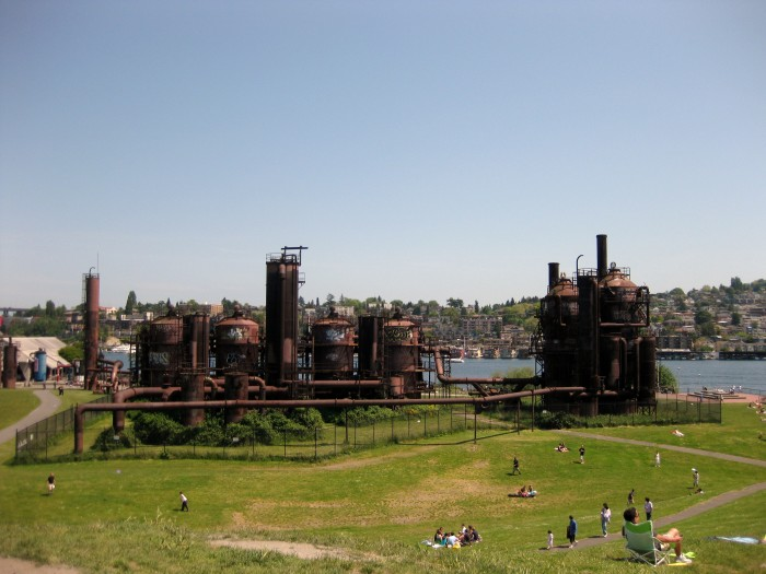 10. Gas Works Park, Seattle