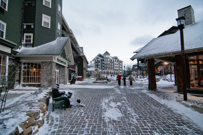 5. Go skiing at Snowshoe