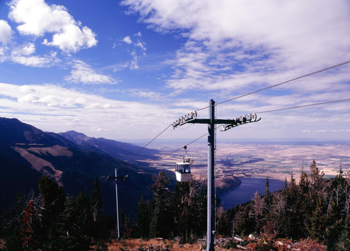 8) Ride a gondola in the Wallowa Mountains.