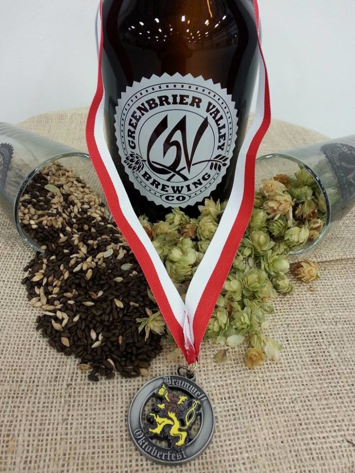9. Greenbrier Valley Brewing Company