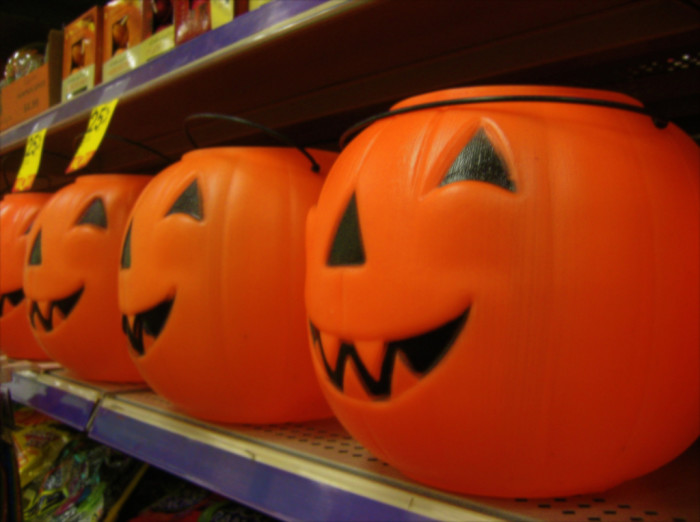 2. Halloween decorations are back in stores.