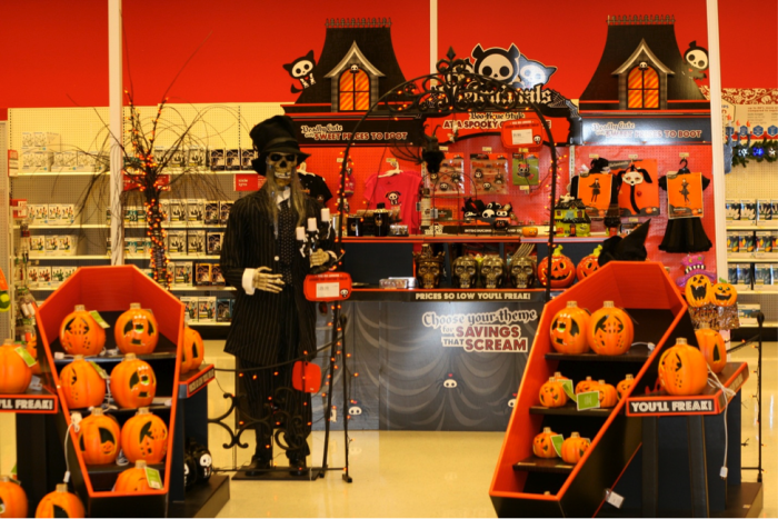 14. You're greeted by an array of spOoOky items every time you walk into a store