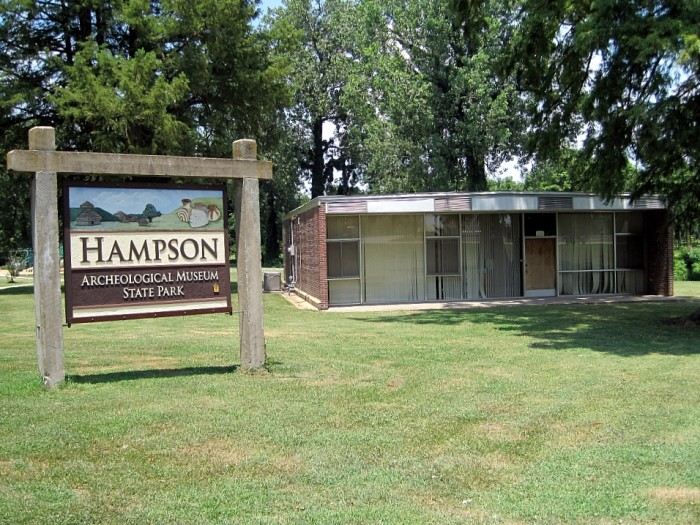 3. Hampson Archeological Museum State Park