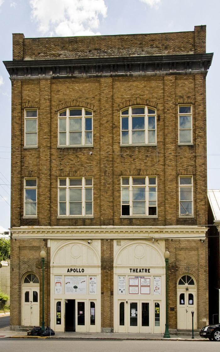 5. Haunted theatre at the Apollo Civic Theatre in Martinsburg