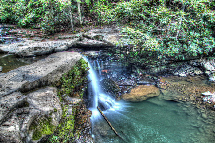 4. This waterfall.