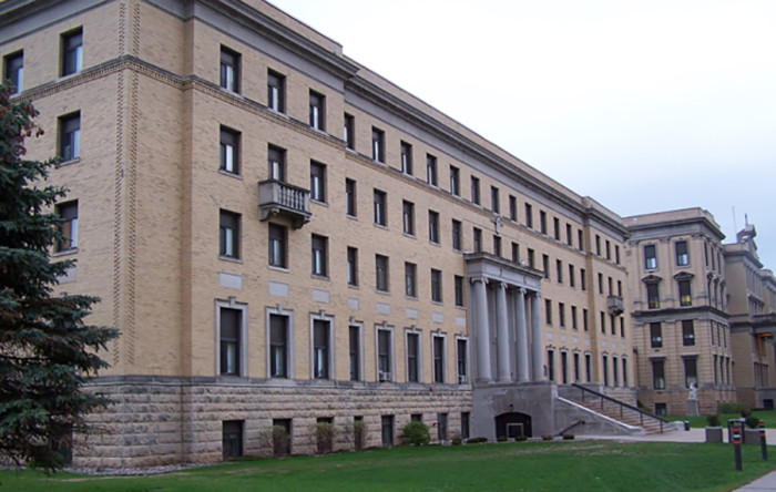 6. St. Mary's College, Heffron Hall, Winona.