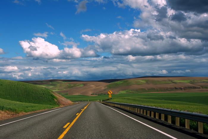 Scenic Roads In Washington