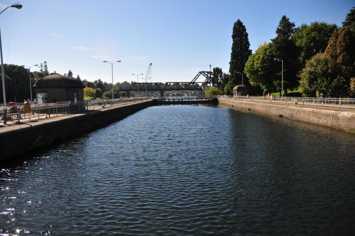 13. Hiram M. Chittenden Locks in Seattle