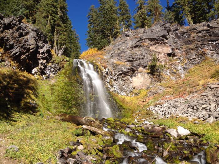 3) Plaikni Falls Trail (2.2 miles)
